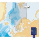 Navionics GOLD XL9 49XG MSD Card with SD Adapter - NORWAY